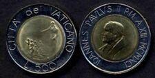 VATICANO Giovanni Paolo II 500 Lire bimet 1991 FDC UNC