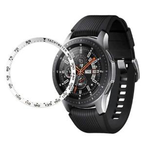 Silver Metal Bezel Ring for Samsung Galaxy Watch 46mm/Gear S3 (Speed)