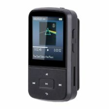 Agptek 8gb Portable Clip Bluetooth Mp3 Player With FM Radio for Sport G05S Black