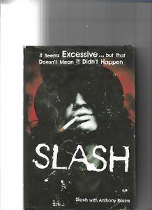 Slash - Slash Hardback Biography Signed With Hand Drawn Sketch