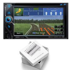 Clarion NX405E Navigation Bluetooth HDMI USB für Opel Corsa D piano black Canbus