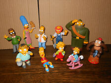 The Simpsons figure bundle Bart Homer Marge Maggie Lisa Fox