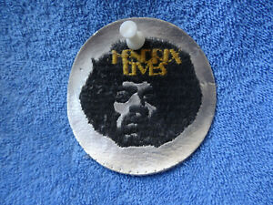 Jimi Hendrix HENDRIX LIVES Aufnäher Sticker Devotionalie original August 1970