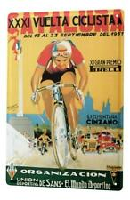Tin Sign Sports Cycling