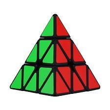 Dreampark Pyraminx Pyramid Speed Cube Black Free Shipping