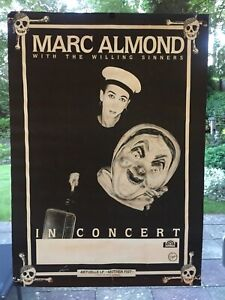 marc almond poster Mother Fist Tour 1987