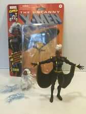 Marvel Legends Storm Jim Lee Retro Black Suit w/ Extra Mohawk Head Complete
