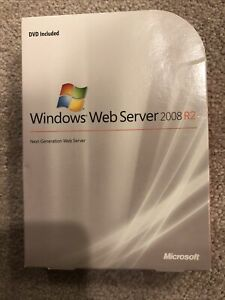 Microsoft Windows Web Server 2008 R2,SKU LWA 00984,64-Bit,Full Retail