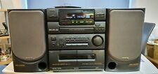 Rara Y Vintage Hi-Fi Sony Aiwa Nsx 330 con dos parlantes N330 SX 1992