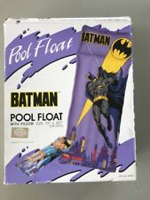 Vintage Batman Pool Float Inflatable CD Comics 1991 NOS in Box Coral Diving