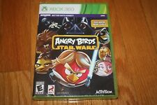 Brand New Factory Sealed Microsoft Xbox 360 Angry Birds Star Wars SHIP FREE US