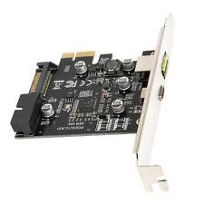 USB C 3.1 PCIe Erweiterungskarten Controller Adapter mit Low Profile