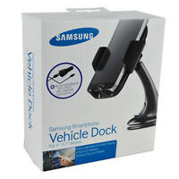 Genuine Samsung In-Car Mount Holder USB Type-C Charger For Galaxy S10/S10+/S9/S8