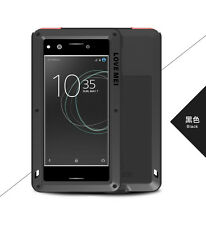 100% LOVE MEI Metal Shockproof Waterproof Case Cover for SONY Xperia XZ Premium
