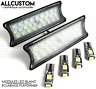 AMPOULES LED ECLAIGAGE BLANC PLAFONNIER pour BMW E87 SERIE 1 2004-10 118 120 123