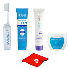 Go Smile Intro Teeth Whitening Starter Kit w/ Gel, Toothpaste, Toothbrush, Light