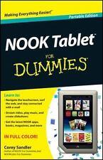 NOOK Tablet for Dummies by Corey Sandler (2012, Trade Paperback)