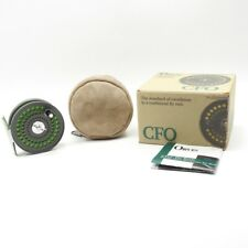 Orvis CFO 123 Fly Fishing Reel. Made in England. W/ Box and Case.