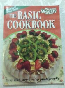 WOMENS WEEKLY BASIC COOKBOOK COOKING RECIPES FOOD COOKBOOK CHEF