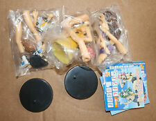 Gashapon, Trading Figure, lot 3 figurines Please Teacher/Twins, CM'S Work
