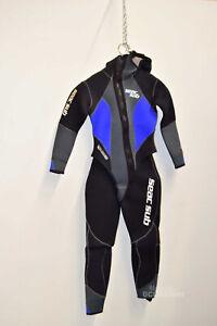 Wet Suit Sub Women's Seac Sub Black Blue SIZE S