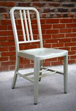 Vintage 1960s GoodForm Mid-Century MODERN Brushed Aluminum Chair Office Dining