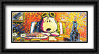 The Last Supper 2x Matted 40x28 Large Framed Art Print by Tom Everhart