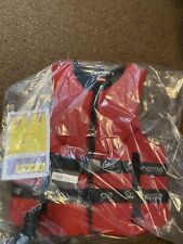 Supreme O'Brien Life Vest Size Large Red Brand New