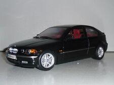 BMW 325ti 3er E46 COMPACT SCHWARZMETALLIC 1:18 KYOSHO DEALER VERY RARE