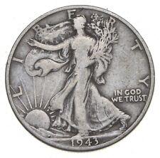 1943-D Walking Liberty 90% Silver US Half Dollar *091