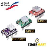 DRV88, A4988 Driver pour CNC Imprimante 3D Contrôle Moteur+Dissipateur TimerMart