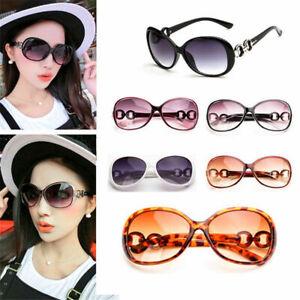 Fashion Women Retro Vintage Eyewear Oversized Designer Sunglasses News #C