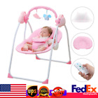 Electric Baby Cradle Auto-Swing Infant Rocking Chair With Remote Control
