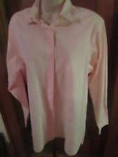 THOMAS PINK Gingham Check SUPERFINE COTTON Luxury Dress Shirt US 10/12/EUR 40