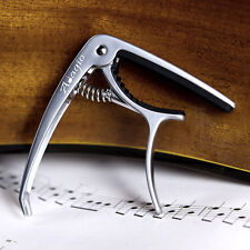 More details for adagio pro - silver deluxe capo for acoustic and electric guitars rrp £10.99 -