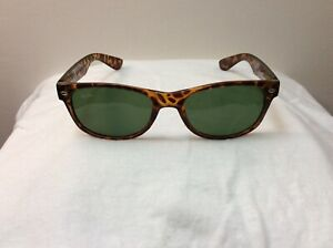 Ray-Ban Polished Tortoise Sunglasses, Size 53-17,  Made In Italy, Preowned