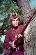 Davy Crockett Fess Parker in coon skin hat and rifle 24X36 Poster