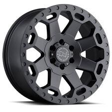 17 inch 17x8 Black Rhino Warlord Gunmetal wheel rim 6x130 +52