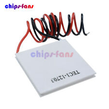 40*40mm TEC1 12703 12715 Heatsink Thermoelectric Cooler Cooling Peltier Plate WH