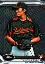 Tsuyoshi Wada Topps Finest Baltimore Orioles / Cubs SIGNED CARD AUTOGRAPHED