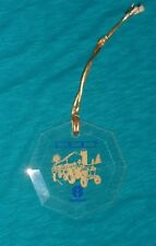 1997 New Holland Glass Christmas Ornament