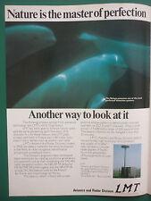 5/1978 PUB LMT BOULOGNE BILLANCOURT AVIONICS RADAR BELUGA DETECTION SYSTEM AD