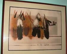 """""""Feathers"""" by Larry Fodor, signed, limited edition lithograph"""
