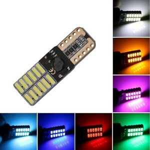 T10 (501) 24SMD LED CANBUS (Pair)