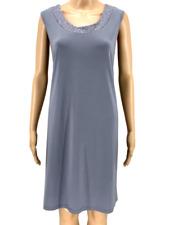 $125 R&M RICHARDS WOMEN'S GRAY GLITTER SCOOP-NECK COCKTAIL DRESS PETITE SIZE PXL
