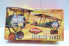 KEIL KRAFT SOPWITH CAMEL #F2 1/72 SCALE AIRPLANE MODEL KIT  SH1D