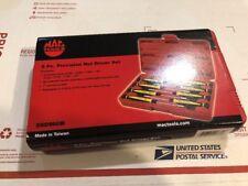 Brand NEW Mac Tools 8 Pc Precision Nut Driver Set Sndm8lb