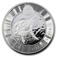 2018 Cayman Islands 1 oz Silver Marlin BU - SKU#167487