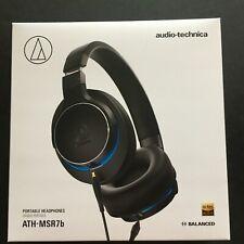Audio-Technica ATH-MSR7b Portable Over-Ear High-Resolution Headphones