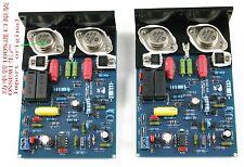 2pcs LJM QUAD405 CLONE MJ15024 stereo 100W+100W completed board +heatsink